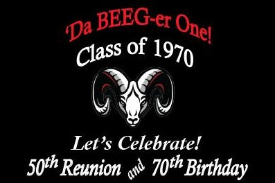 Admiral Arthur W. Radford High School ~ Class of 1970 ~ 50th Reunion ~ 'Da Beeg One!