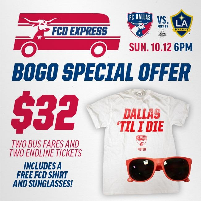 FCD Express Blue Line 10/12 FCD vs. LA Galaxy