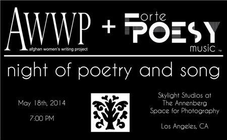 AWWP + Forte Poesy: Night of Poetry and Song